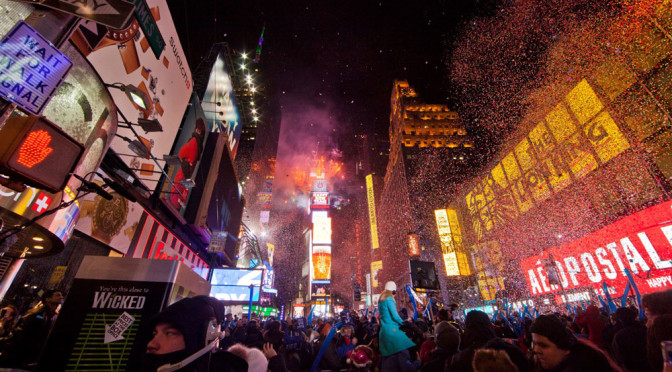 New Year in New York; the world's most watched celebration