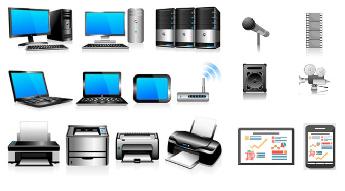 Consumer Electronics, Computers and Electronic devices.